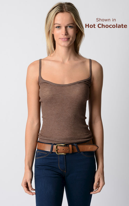 Now 60% Off! Our Plain Knit Bound Edge Camisole - product image