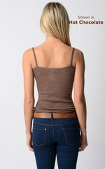 Now 60% Off! Our Plain Knit Bound Edge Camisole - product images 6 of 8