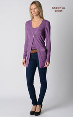 Wow 60% Off! Sparkle Knit Boyfriend Cardigan & Camisole - product images 5 of 8