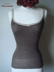 Our Narrow Lace Camisole & Cardigan Set - product images 2 of 2