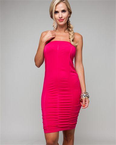 White Tube Dress on Easy Going Glam Pink Dress  Easy  Going