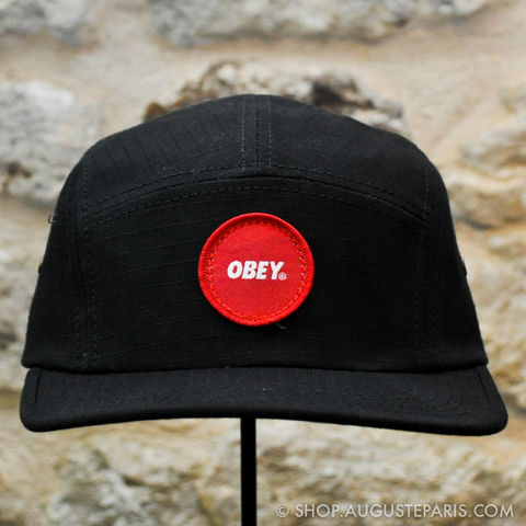 5,panels,Obey,Circle,Patch,5 panels, Obey