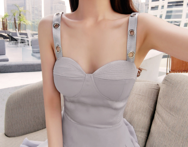 Lila Grey Dress - product images  of