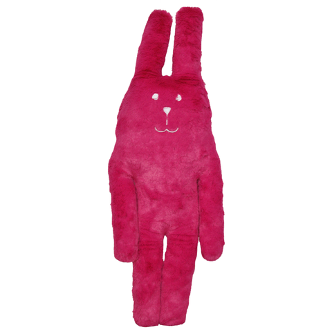 Fuschia,Rab,Soft,Hug,Toy,(Small),soft toy, pink, fucshia, easter, summer, mum, sister, aunty, gran, japan, rabbit, bunny, rab, japanese, cute, plush, toy, soft, huggable, pillow, pastel, home decor, fun, adorable