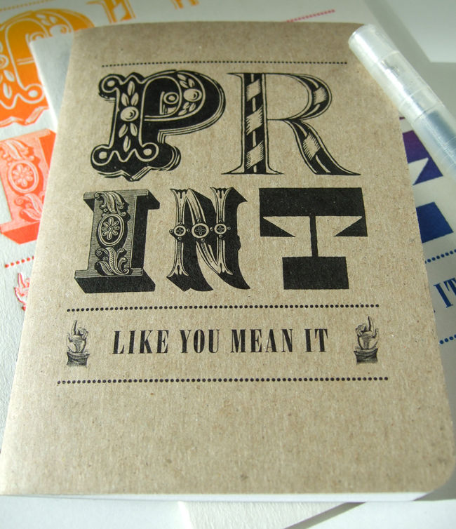 Print Like You Mean It notebook - product images  of