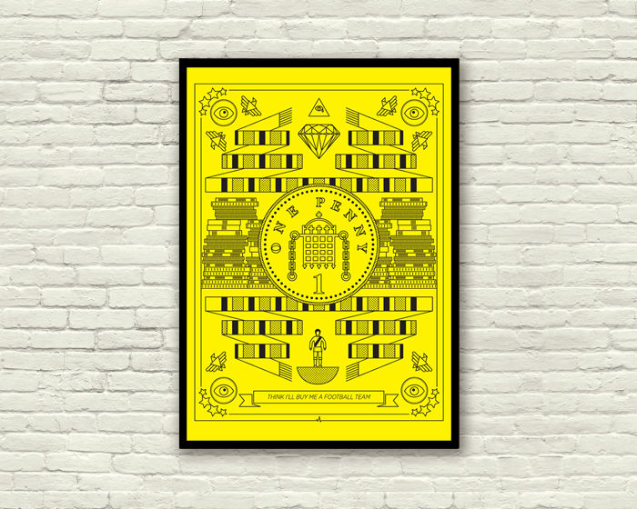 .06. MONEY screen print - product images  of