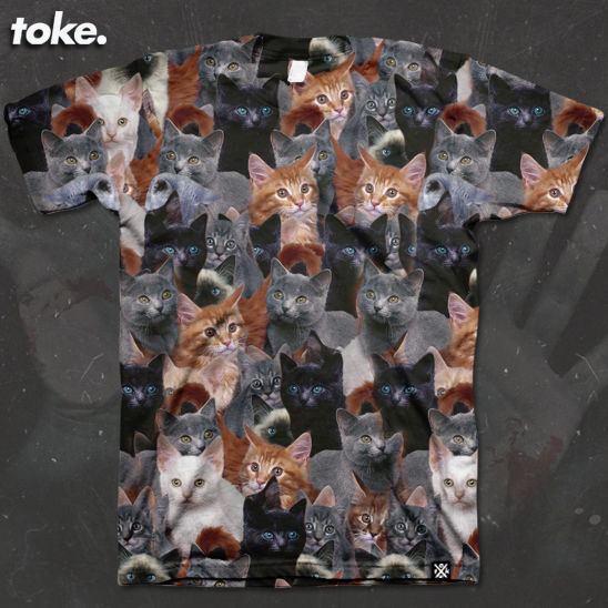 Toke - Cats - Tee or Sweater... - product images  of