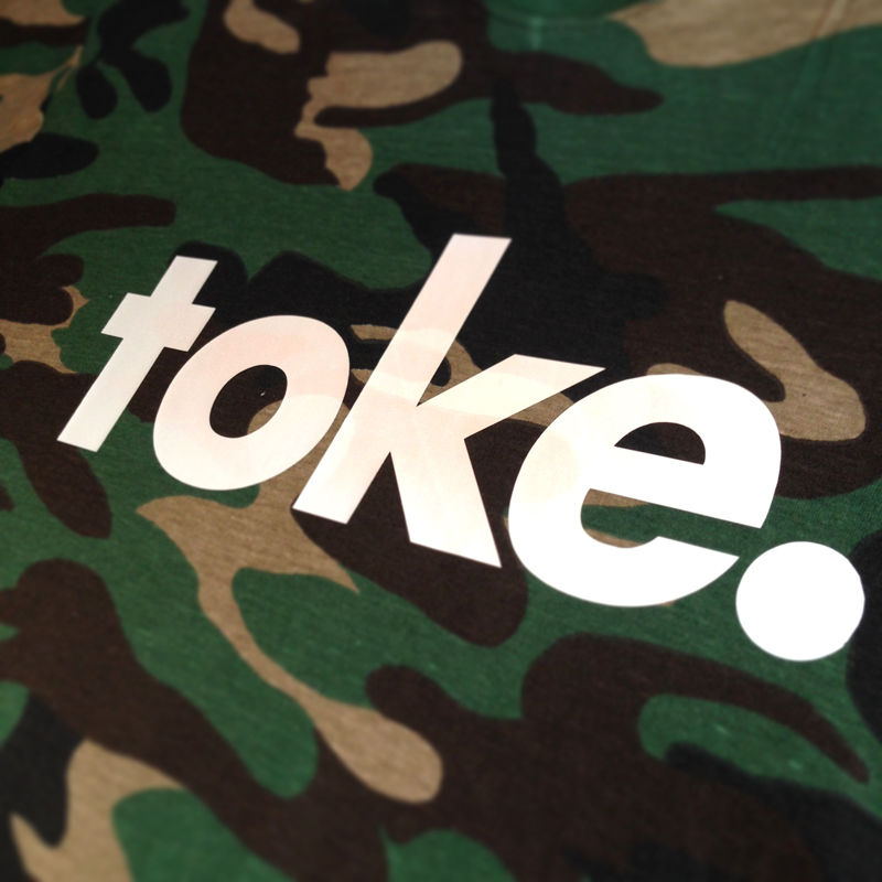 Toke - Camo Logo - Tee - product images  of