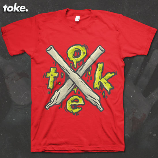 Toke - HalloWEED X Joints - Tee - product images  of