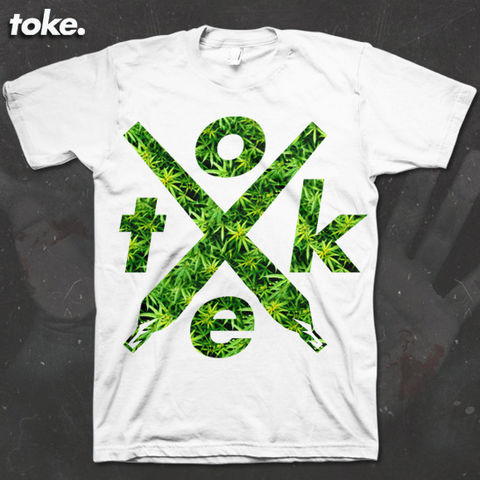 Toke,-,X,joints,Filled,Weed,Tee