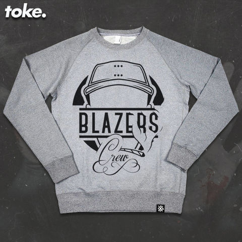 Toke,-,BLAZERS,CREW,Sweater,or,Zipper,Hoody,Toke - BLAZERS CREW - Sweater or Zipper Hoody