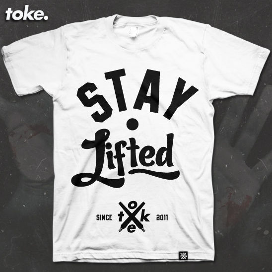 Toke - Stay Lifted - Tee - product images  of