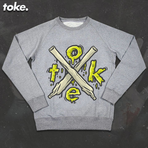 Toke,-,HalloWEED,X,Joints,Sweater