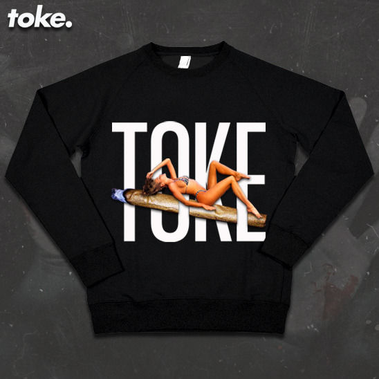 Toke - Blunt Chick - Sweatshirt - product images  of