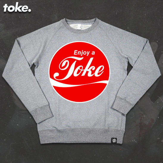 Toke - Enjoy a Toke - Sweatshirt - product images  of