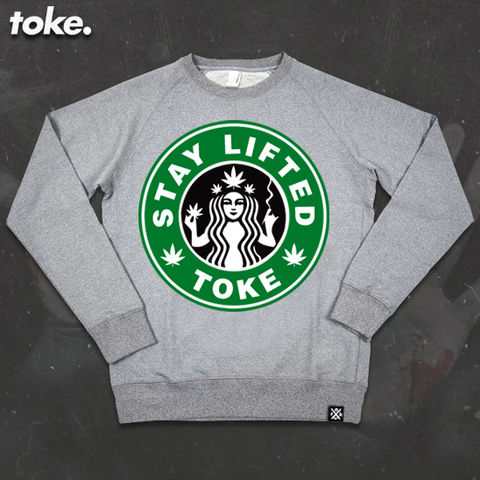 Toke,-,TOKEBUCKS,Sweatshirt,Toke - TOKEBUCKS - Sweatshirt