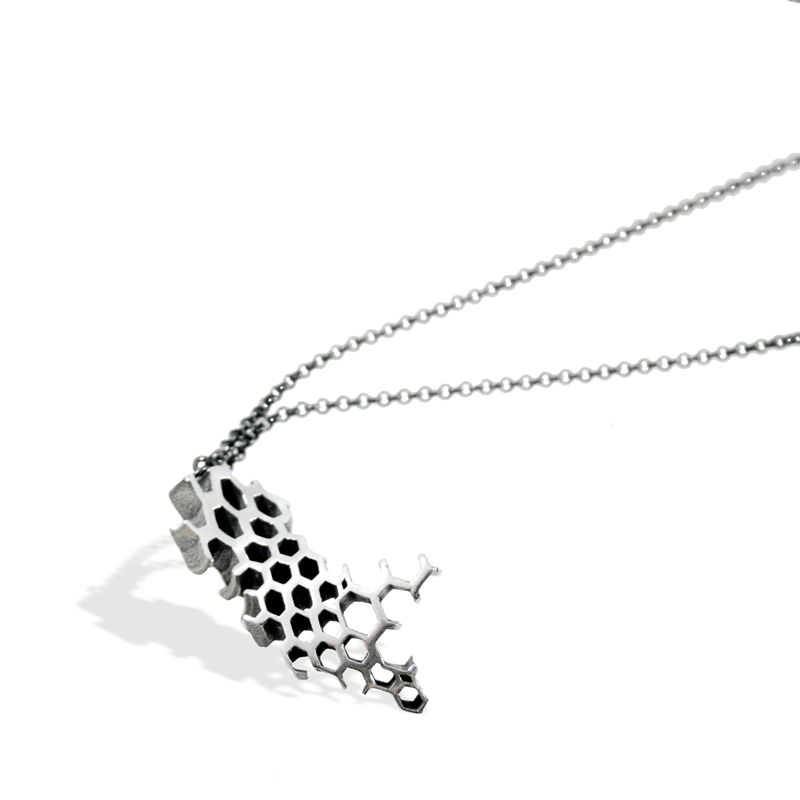 II Honeycomb Necklace - product images  of