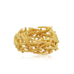 Nest Ring White / Gold/ Black - product images  of