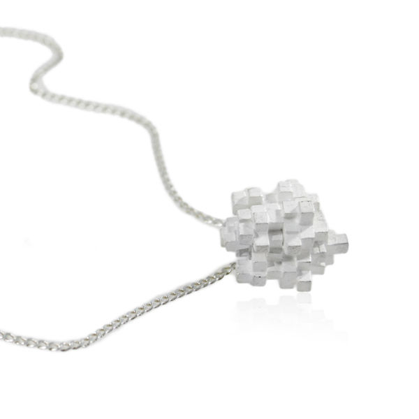 Tetris Cube Necklace - product images  of