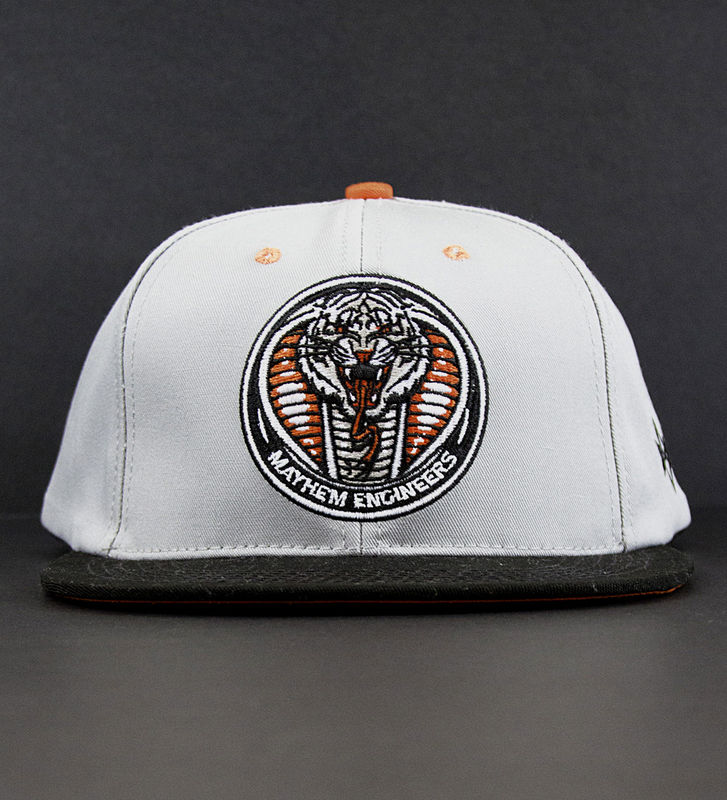 Mayhem Engineers Orange Snapback - product images  of