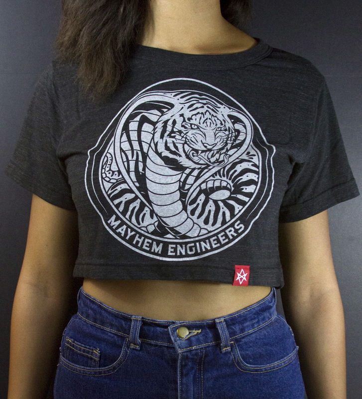 Mayhem Engineers Crop Top - product images