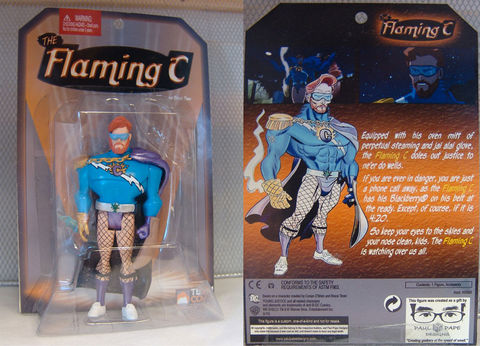 Action,Figures,action figure, custom, mod, flaming C