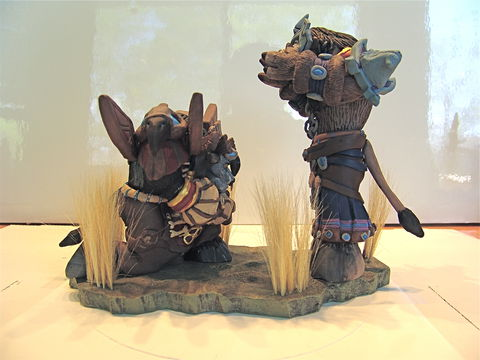Clay,Imitations,Gaming,realistic, WoW, world of warcraft, gaming, figures, sculpture
