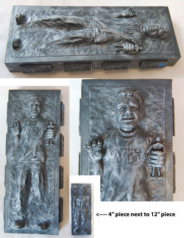 Custom,Carbonites,Star Wars, Carbonite, Frozen, custom, Han Solo, personalized