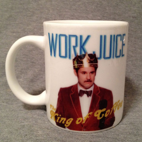 WorkJuice,King,of,Coffee,Mug,Thrilling Adventure Hour, TAH, King of Coffee, WorkJuice, Work Juice, Coffee, radio plays