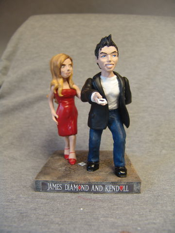 Clay,Imitations®,Cake,Toppers,realistic, cake topper, wedding, sculpture