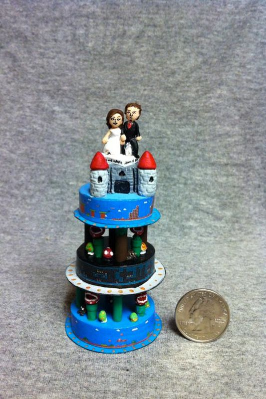 Mini-Cake Ornaments - product image