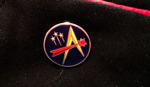 TAH,Lapel,Pins,Thrilling Adventure Hour, TAH, Patriot Brand, radio plays, lapel pins, Philip Fathom, WorkJuice, Adventurekateer