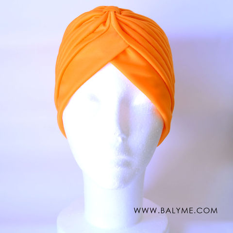 ORANGE,TURBAN,/,TURBANTE,NARANJA,TURBANTE PARA BODAS, TURBANTE MUJER, TURBAN HEADBAND, TURBAN WEDDING, TURBAN WOMEN