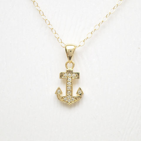 Sailor,Dream,Necklace,V2,anchor gold nautical necklace singapore