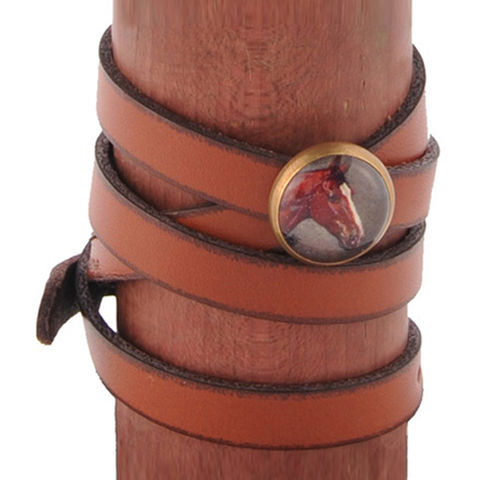 The,Wrap,Bracelet,rebecca ray designs, leather wrap bracelet, leona, horse bag, equestrian handbag, tablet case, cosmetic bag