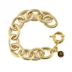 Lindsey,Gold,Link,Bracelet,lindsey chain link gold bracelet, loren hope, oprah