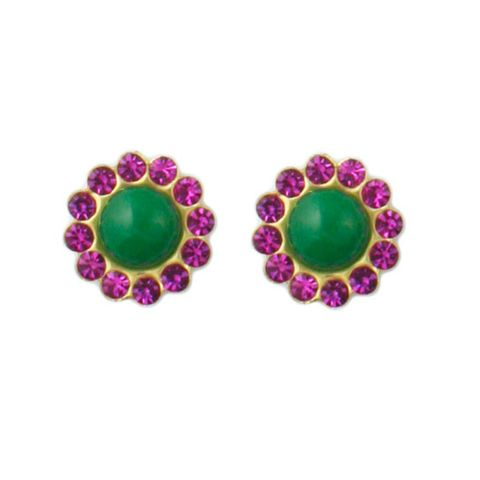 Loren,Studs,(3,Color,Combo,Choices!!),stud earring czech crystal, loren hope, blair eadie, oprah, rachel zoe