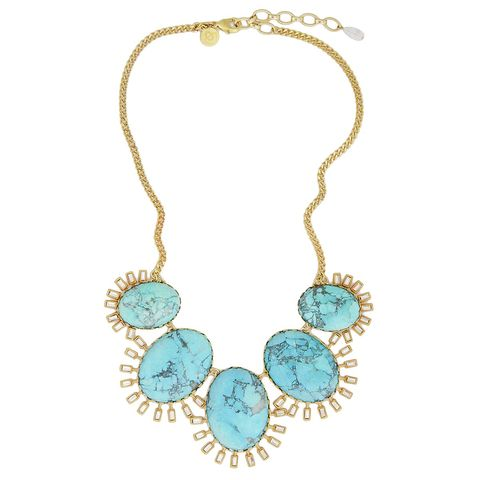 Roxy,Necklace,j.crew, turquoise, made in the usa, loren hope, roxy necklace