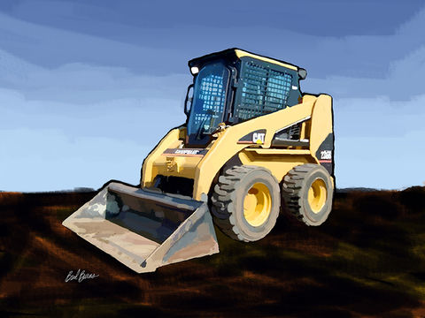 Caterpillar,236B,Skid-Steer,Loader,Caterpillar 236B Skid-Steer Loader, america, trenches,catapillar,catapiller,trencher,construction artist, bulldozers, construction art, cement, concrete, concrete work, concrete workers, big iron, ironworkers, drilling, earth movers, buil