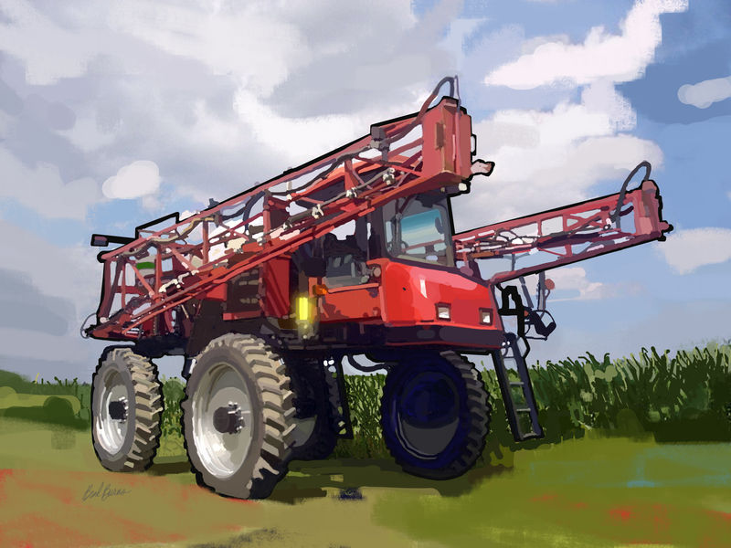Case IH SPX3185 Self-Propelled Sprayer - product images