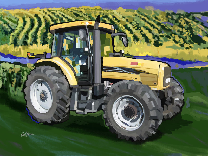 2004 Challenger MT525B Farm Tractor - product images