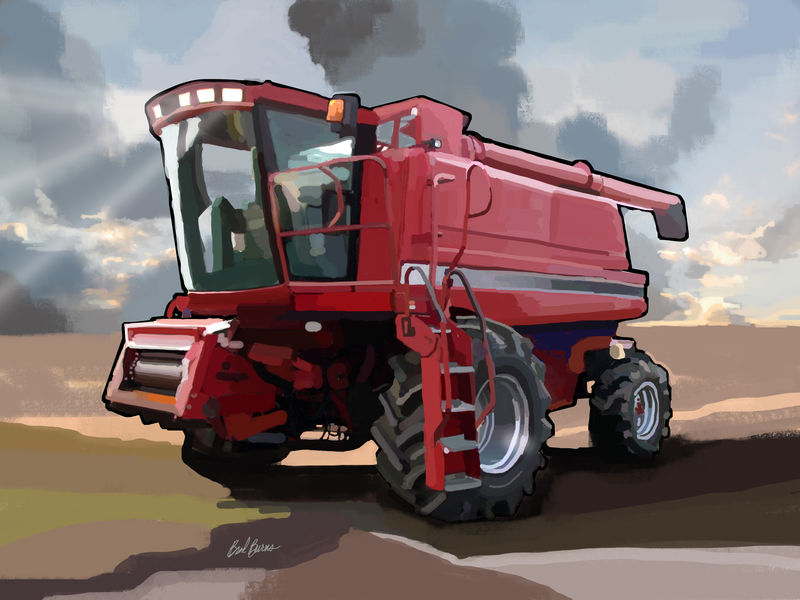 Case IH 2188 Combine - product images