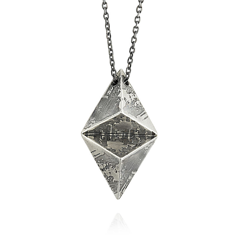 Double Pyramid SOUVENIR Pendant - MED - product images  of
