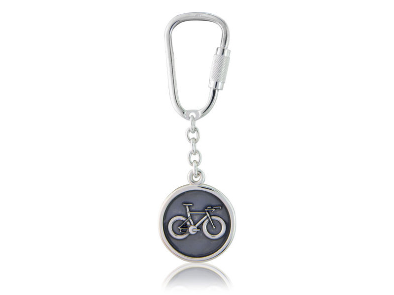 Time Trial / Track Bicycle Disc Keyring - product images  of