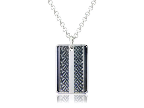 V,Tread,Pendant,Silver, Jewellery, Pendant, Bicycle, Hallmarked, U.K.