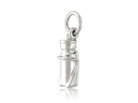 Bottle,Charm,Silver, Jewellery, Charm, Trinket, Road, Bicycle, U.K.