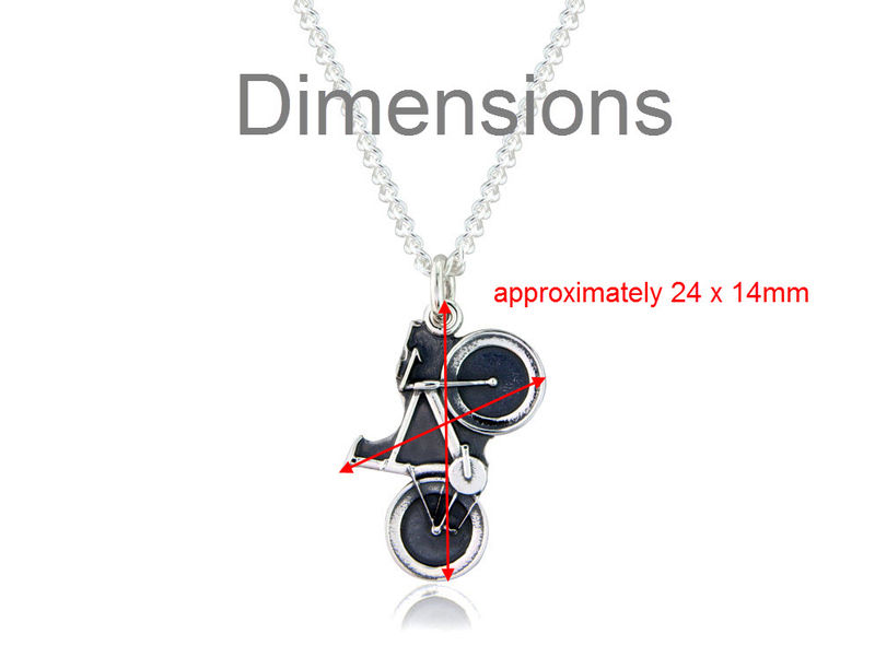 Time Trial / Track Bicycle Pendant - product images  of