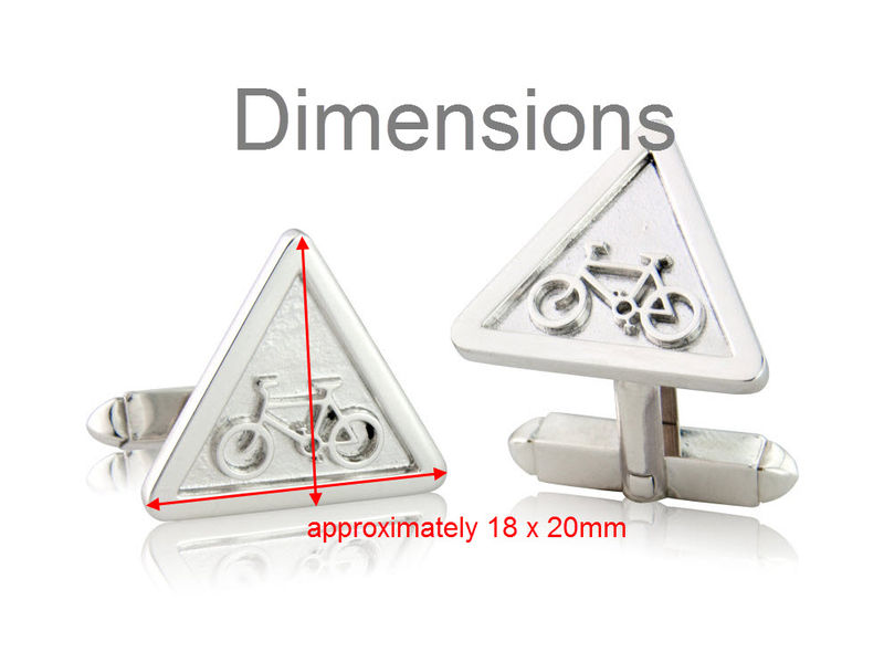 Warning Sign Cufflinks - product images  of