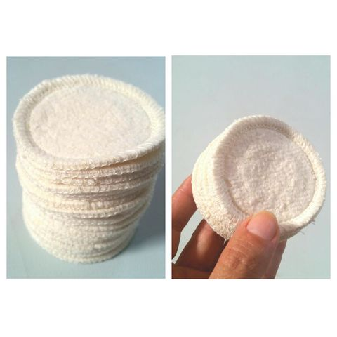 10,hemp,mini,rounds,reusable,organic,cotton,fleece,eye,makeup,romeovers,pads,washable,organic eye makeup rounds, hemp rounds, washable facial pads, organic cotton rounds, organic cotton eye pads,