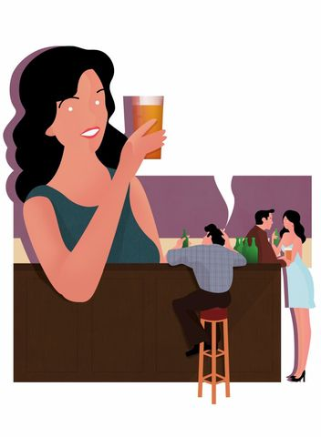 Cheers,by,James,Boast,(A3,print),Art, Illustration, Print, Book, Beer, Cheers, James, Boast, Design, Paper, Digital Print, Column, Arts, Agency